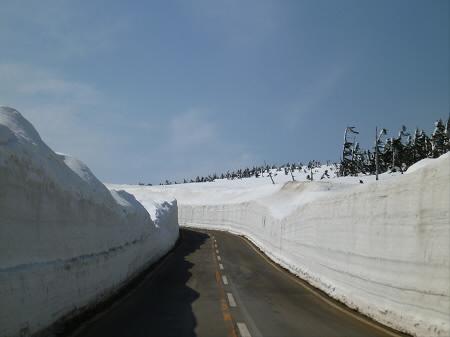 雪の回廊秋田04(2013.4.29)