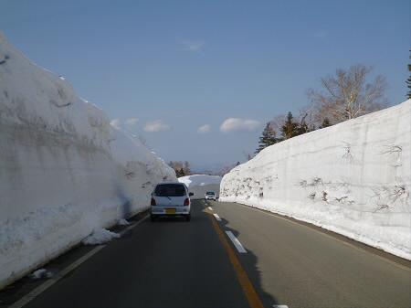 雪の回廊秋田13(2013.4.29)