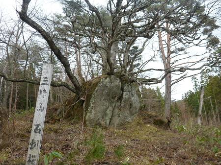 八幡平の石割桜10(2013.4.17)