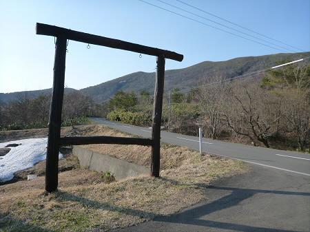 七時雨山の一本桜03(2013.4.25)