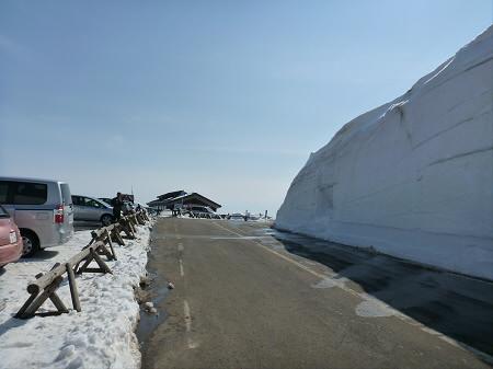 八幡平山頂付近11(2013.4.29)