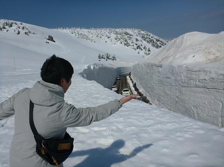 八幡平山頂付近27(2013.4.29)
