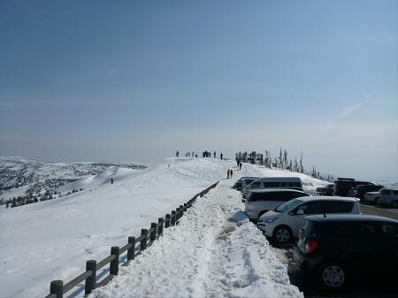 八幡平山頂付近32(2013.4.29)