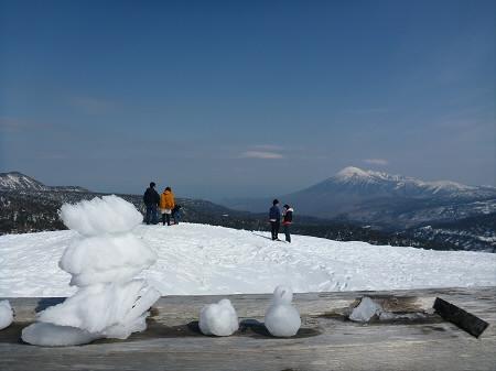 八幡平山頂付近33(2013.4.29)