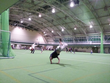 さくらさんさの練習01(2013.7.24)ジャンプ!