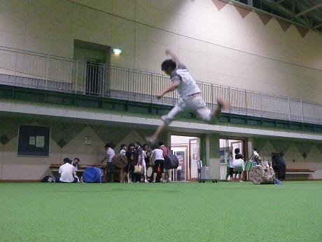 さくらさんさの練習18(2013.7.30)ジャンプ!