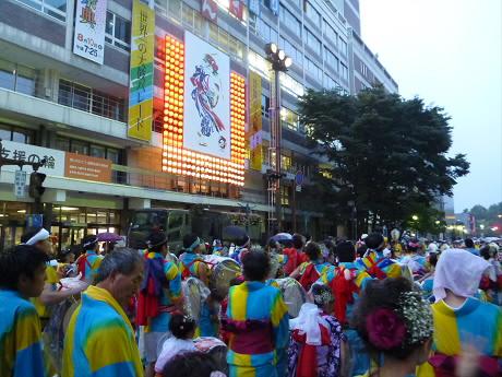 さくらさんさパレード25(2013.8.1)
