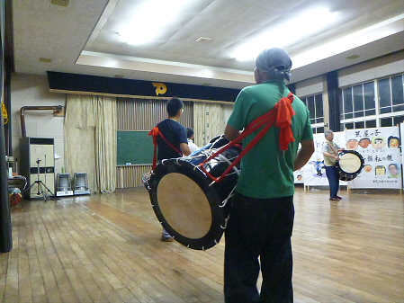 なにゃとやら太鼓練習06(2013.8.9)