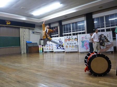 なにゃとやら太鼓練習11(2013.8.9)
