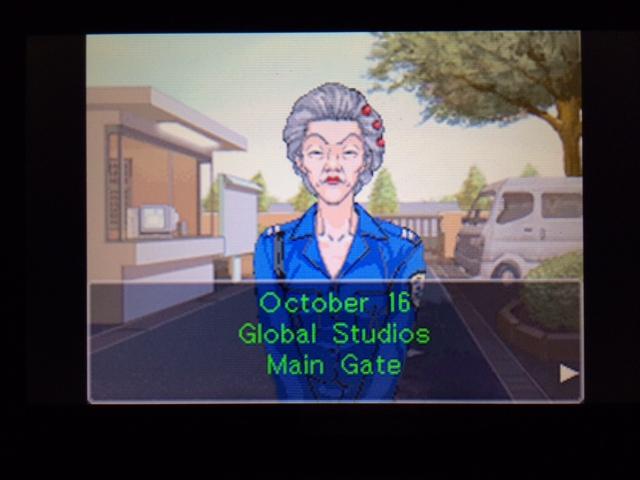 逆転裁判 北米版 グローバル・スタジオ 正門前 オールドバグ3-1
