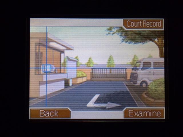 逆転裁判 北米版 警備員詰所1