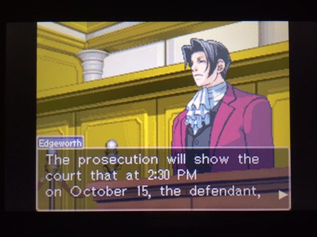 逆転裁判 北米版 パワーズ法廷1-6