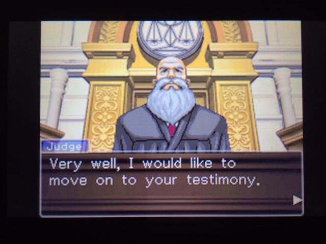 逆転裁判 北米版 パワーズ法廷1-9