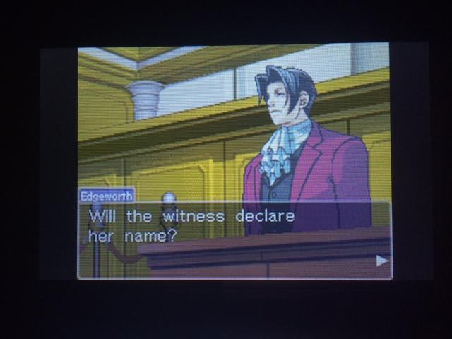 逆転裁判 北米版 オールドバグ証言1