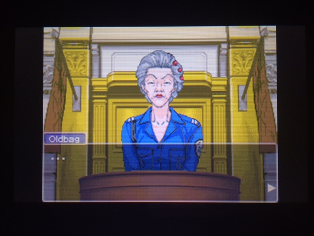 逆転裁判 北米版 オールドバグ証言2