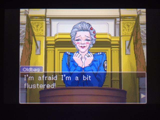 逆転裁判 北米版 オールドバグ証言5