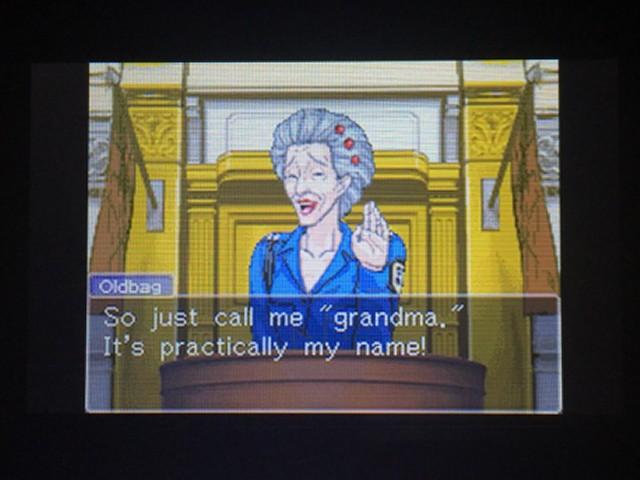 逆転裁判 北米版 オールドバグ証言11