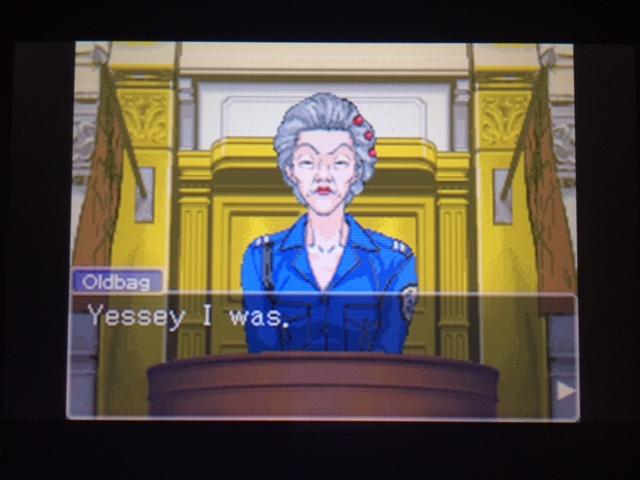逆転裁判 北米版 オールドバグ証言23