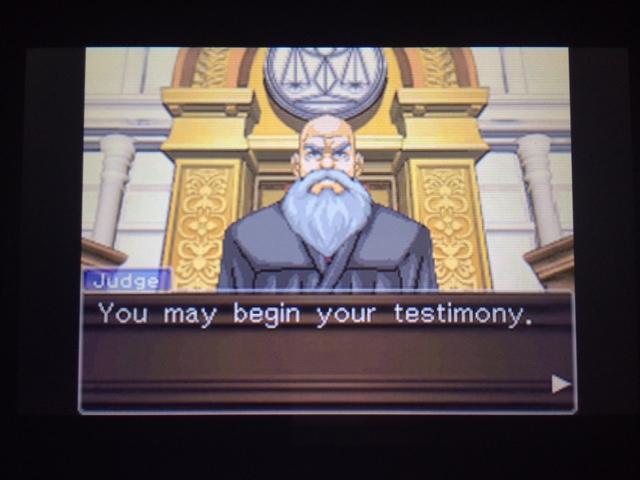 逆転裁判 北米版 オールドバグ証言26