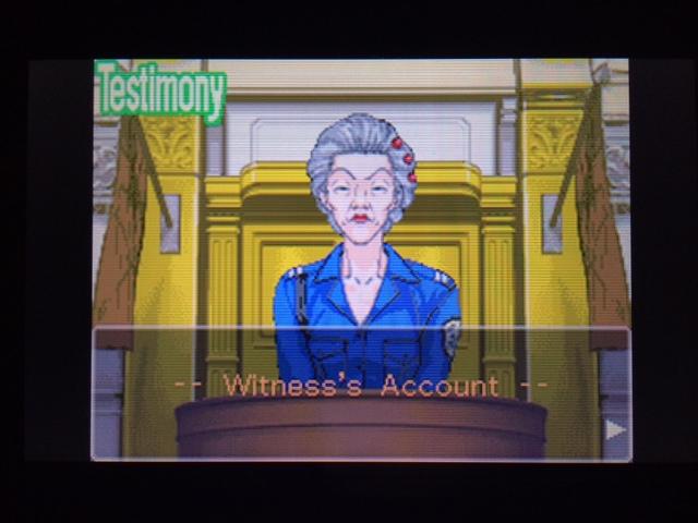 逆転裁判 北米版 オールドバグ証言28