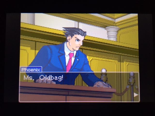 逆転裁判 北米版 オールドバグ証言44