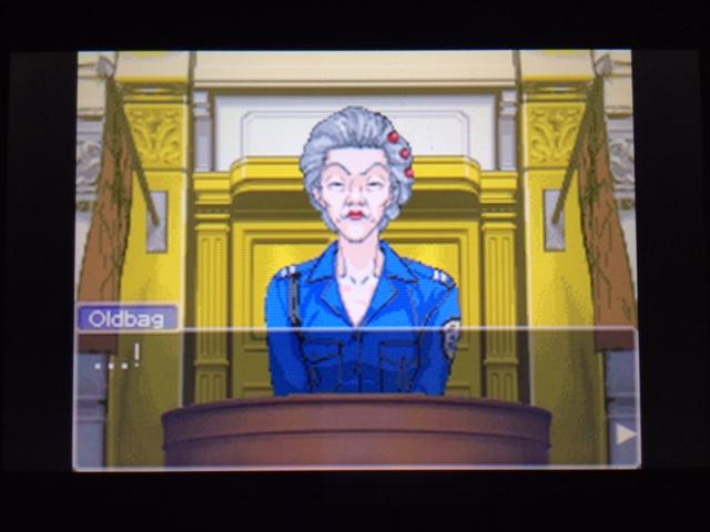 逆転裁判 北米版 オールドバグ証言52