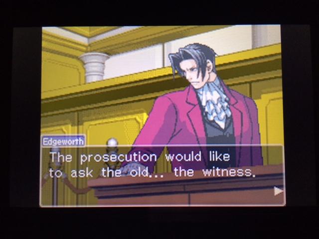 逆転裁判 北米版 オールドバグ証言61