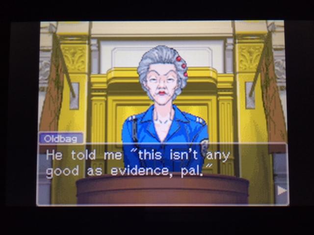 逆転裁判 北米版 オールドバグ証言64
