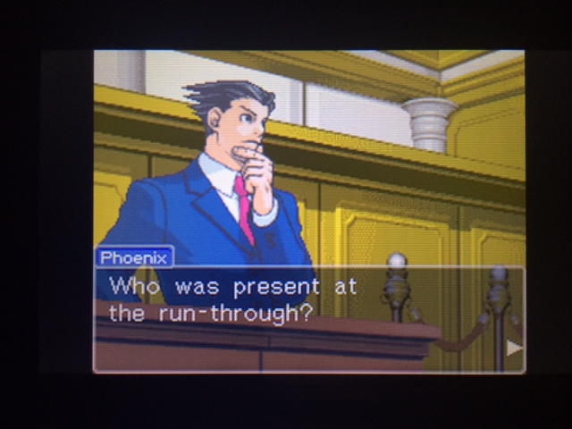 逆転裁判 北米版 オールドバグ証言89