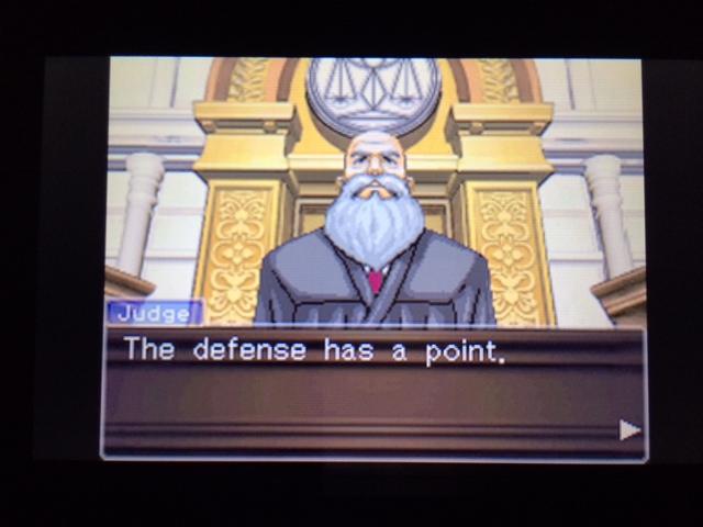 逆転裁判 北米版 オールドバグ証言135