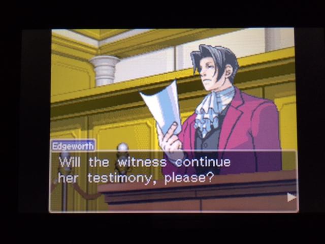 逆転裁判 北米版 オールドバグ証言138