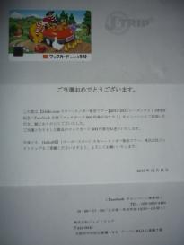 マックカード(500塩分)
