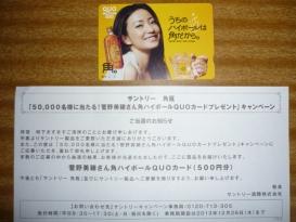 クオカード(500塩分)