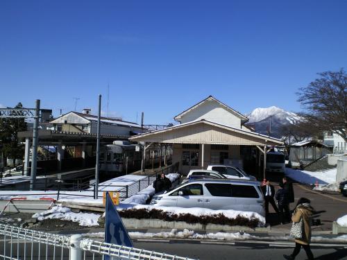 湯田中駅(26.2.12)