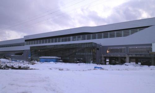 北陸新幹線飯山駅(26.2.10)