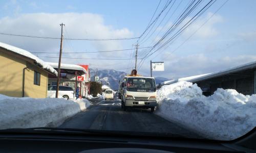 排雪作業進む(26.2.19)