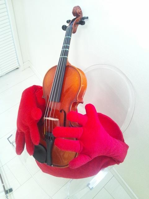 20130930ハートさんとヴァイオリン