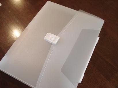 白いファイル