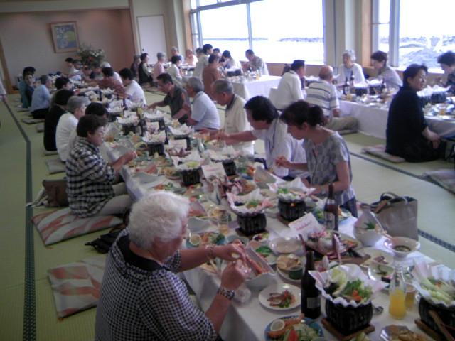 寺泊 きんぱちの湯懇親会