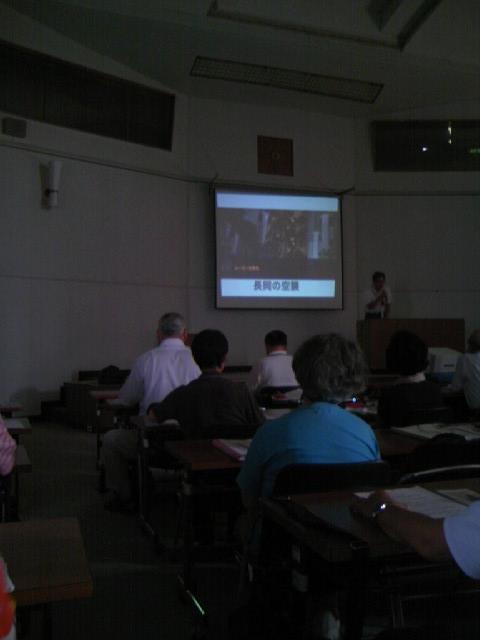 さわやか悠久大学 長岡市の戦災を語る DVD上映
