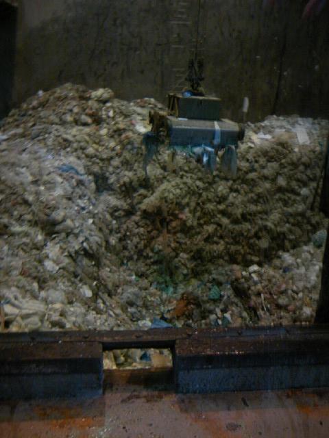 寿クリーンセンター 燃えるゴミ集積場 臭くて息が止まりそうだった