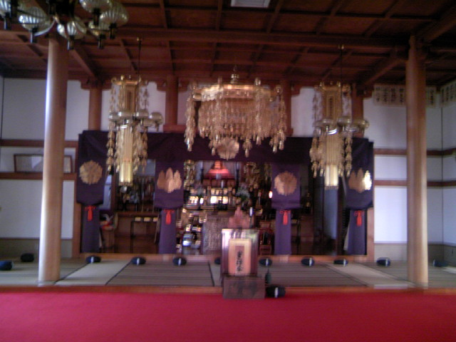 昌福寺の本堂