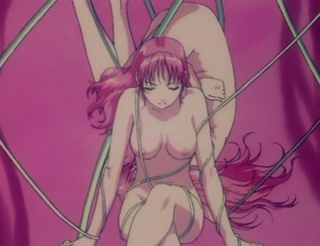 超神姫ダンガイザー3 アイナの全裸乳首5