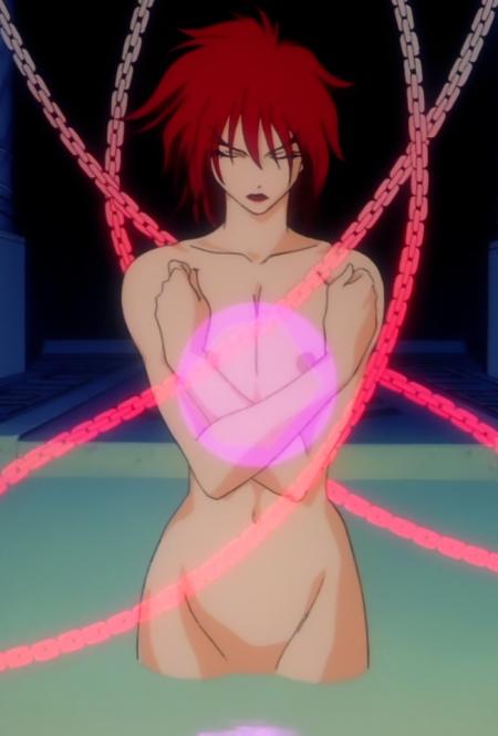 超神姫ダンガイザー3 サーファイアの全裸乳首6