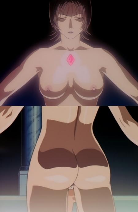 超神姫ダンガイザー3 ディーネの全裸乳首7