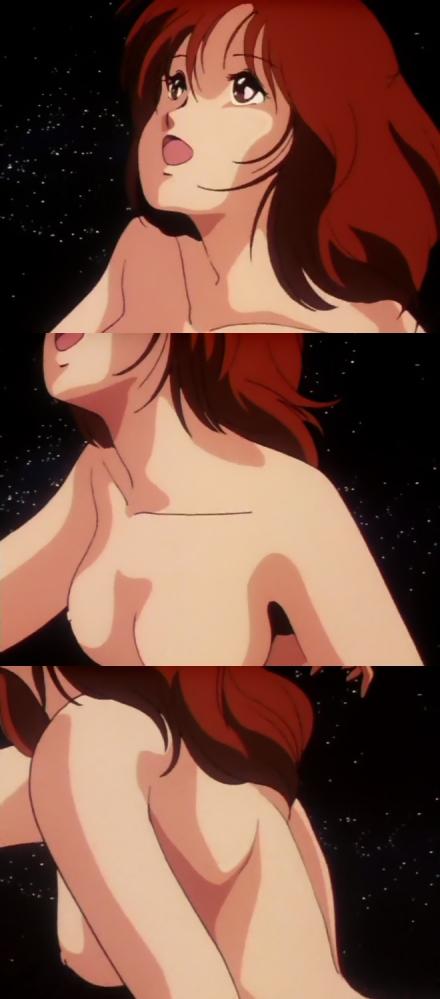 マシンロボ クロノスの大逆襲 レイナ・ストールの全裸転生シーン乳首37