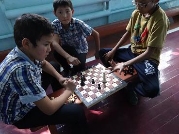 チェス教室見学