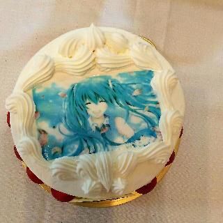初音ミクケーキ