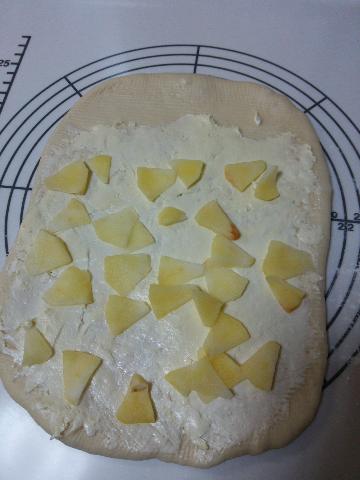 林檎とクリームチーズ