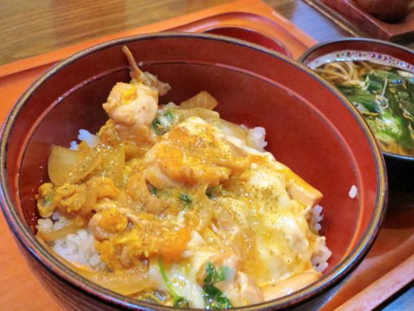 親子丼+ミニ蕎麦